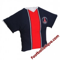 Coussin PSG Maillot marine rouge