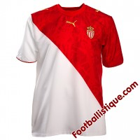 Maillot du club de l'AS Monaco  rouge et blanc
